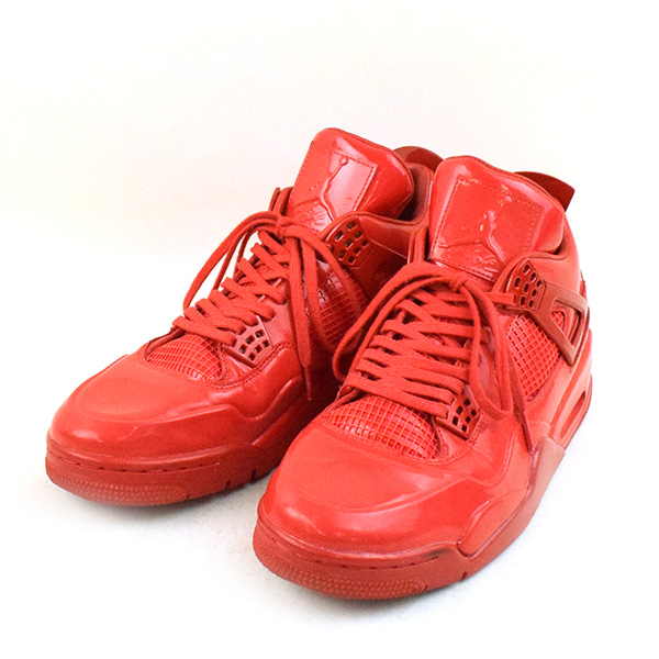 on sale 20525 f75f1 NIKE Nike AIR JORDAN 11LAB4 UNIVERSITY RED sneakers men red 28cm
