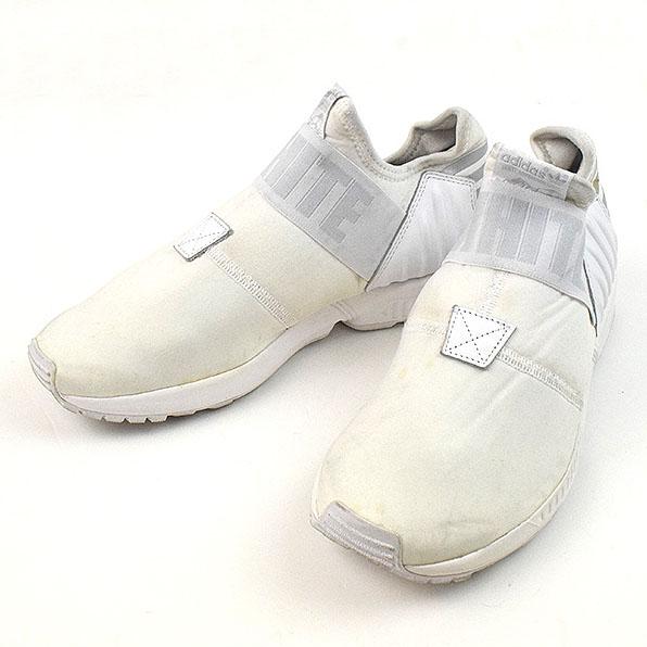 ff915da8922f adidas Originals by White Mountaineering アディダスオリジナルスバイホワイトマウンテニアリング 16SS ZX  FLUX PLUS WM sneakers men white 26cm