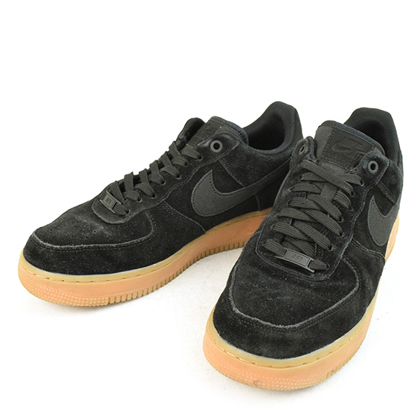 Low Air Men 26cm Force '07 Cloth Cut 1 Suede Frequency Black Lv8 Nike Sneakers Yf67yvbg