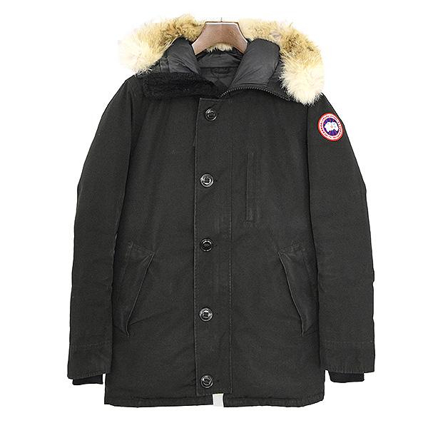 【中古】CANADA GOOSE カナダグース JASPER PARKA ダウンジャケット メンズ 秋冬 定番 ブラック S