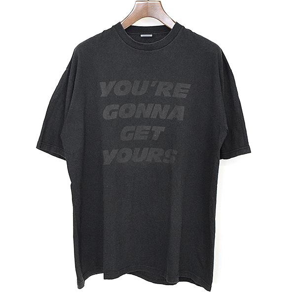 【中古】Supreme シュプリーム ×Public Enemy パブリックエネミー 06SS YOU'RE GONNA GET YOUR BOX LOGO ターゲットプリントTシャツ メンズ ブラック XL
