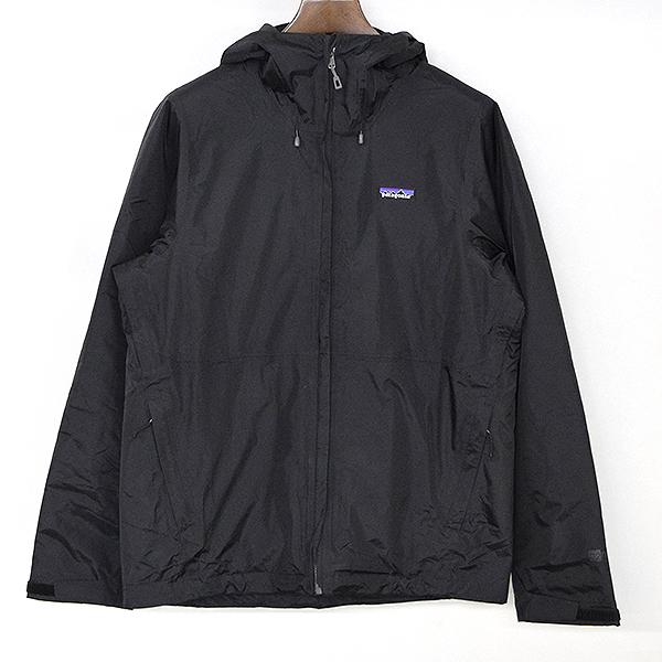 【中古】Patagonia パタゴニア 中綿ナイロンジップアップジャケット メンズ ブラック M
