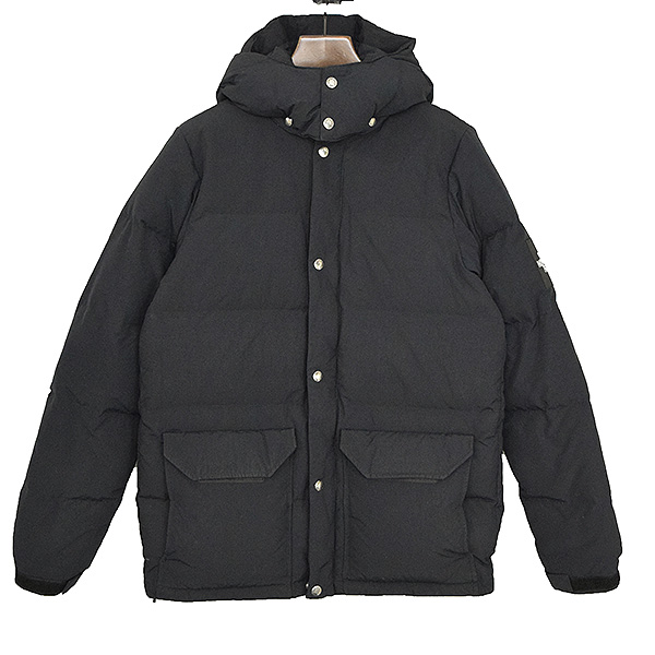 19f666291 THE NORTH FACE ザノースフェイス CAMP sierra Short down jacket men black L in the  fall and winter