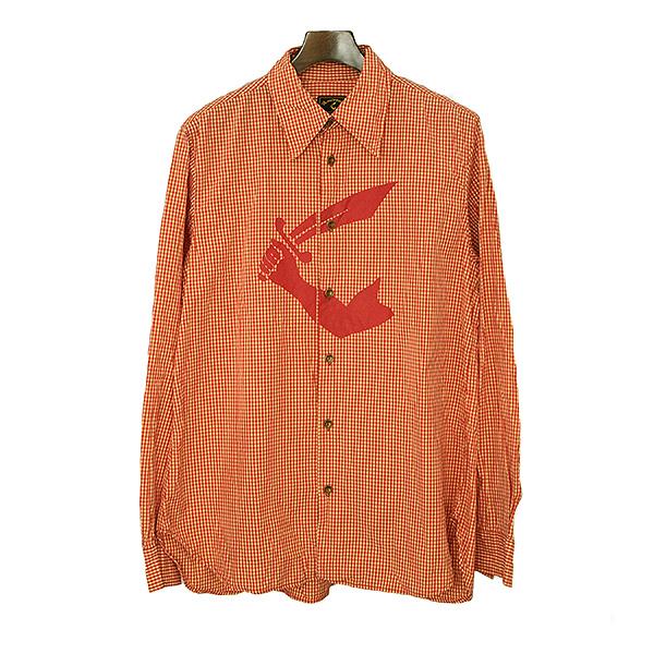 トップス / フロント デザインタイ ウエストウッド # 【中古】 【期間価格7/1-7/8\19500→16500】 ストライプ Vivienne Westwood / ヴィヴィアン 未使用新品 シャツ / 未使用品 長袖 ワイシャツ ブラウス