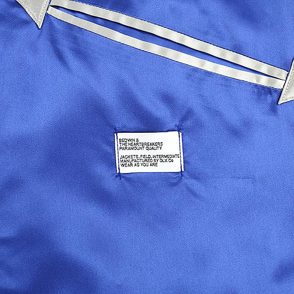 BEDWIN ベドウィン 17SS MCNIGHT リバーシブルスカジャン メンズ ブルー 1CdxBoe