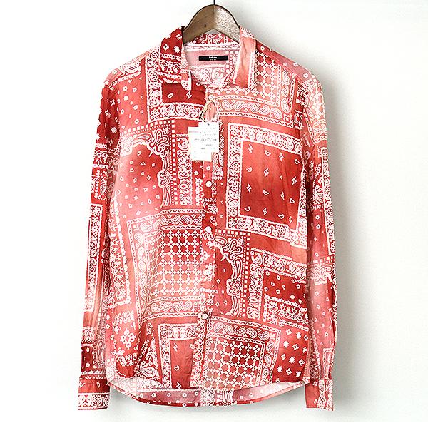680bf658 ... alexander bandana print shirt in red save 17 lyst; modescape rakuten  ichiba cathy jane cathy jane paisley bandana ...
