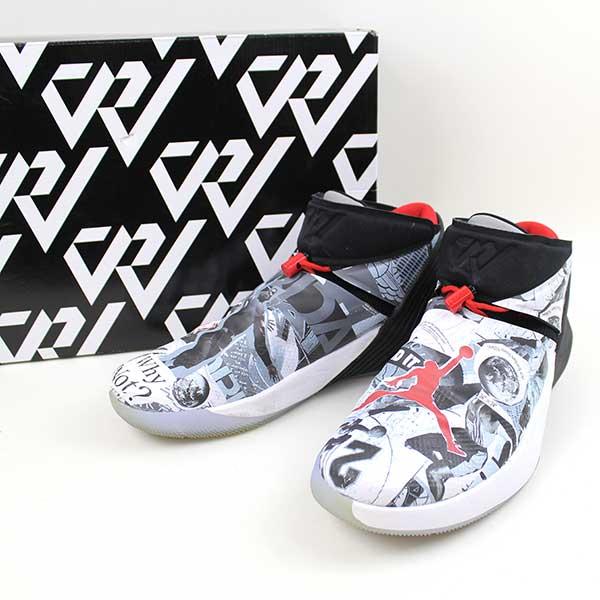 size 40 50d0f 4dde7 NIKE Nike IR JORDAN Why not Zero.1 MIRROR IMAGE sneakers men white 31cm