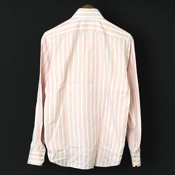 241c25df MODESCAPE Rakuten Ichiba Shop: HUGO BOSS Hugo Boss stripe pattern dress  shirt men pink 38 | Rakuten Global Market