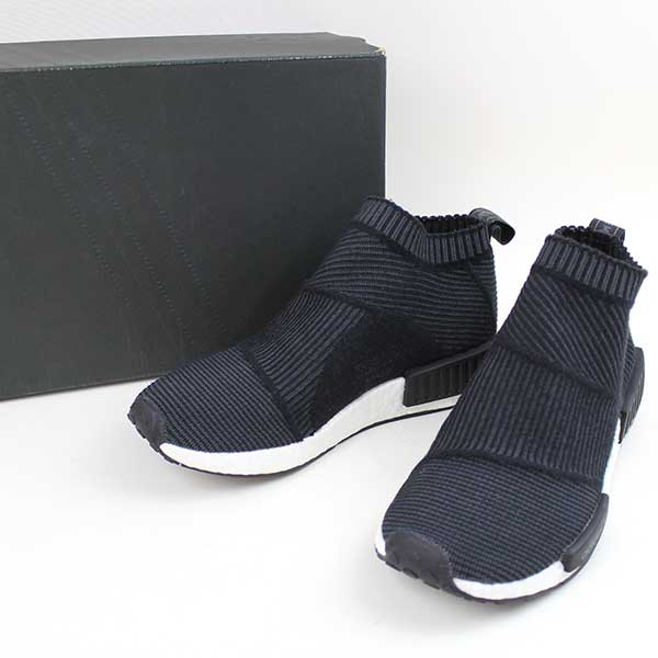 buy popular 2c2e8 31e63 adidas Adidas NMD-CS1 PK WINTER WOOL sneakers men black 26cm