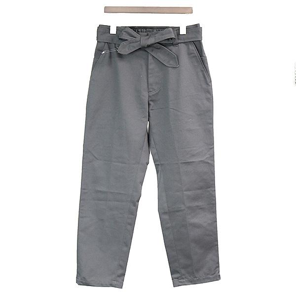 【中古】SYU. シュウ 18SS SKATER PANTS ポーチ付きスケータースリムパンツ メンズ グレー 2