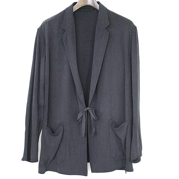 【中古】COMOLI コモリ 17SS シルクネップジャケット メンズ ブラック 2