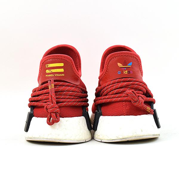 89781aeb3ebdd ADIDAS BY PHARRELL WILLIAMS Adidas by Farrell Williams HUMAN RACE NMD RED  human race sneakers men red 26.5cm