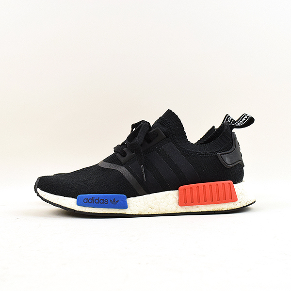 adidas Adidas NMD RNR PK RUNNER tricolor sneakers men black 26.5cm