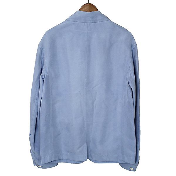 05392cc547c2 Arrival at BURBERRY PRORSUM バーバリープローサム 14SS orchid way LOOK8 5B silk jacket  men sax 46