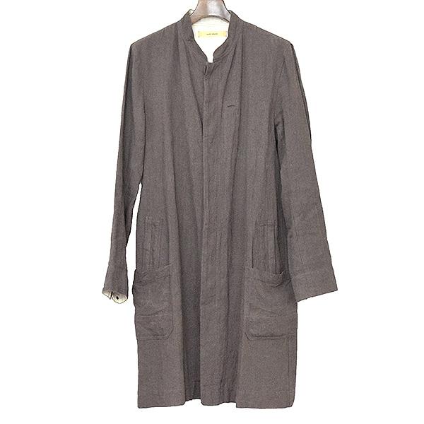 【中古】suzukitakayuki スズキ タカユキ craftman's coat クラフトマンコート メンズ チャコールグレー 1
