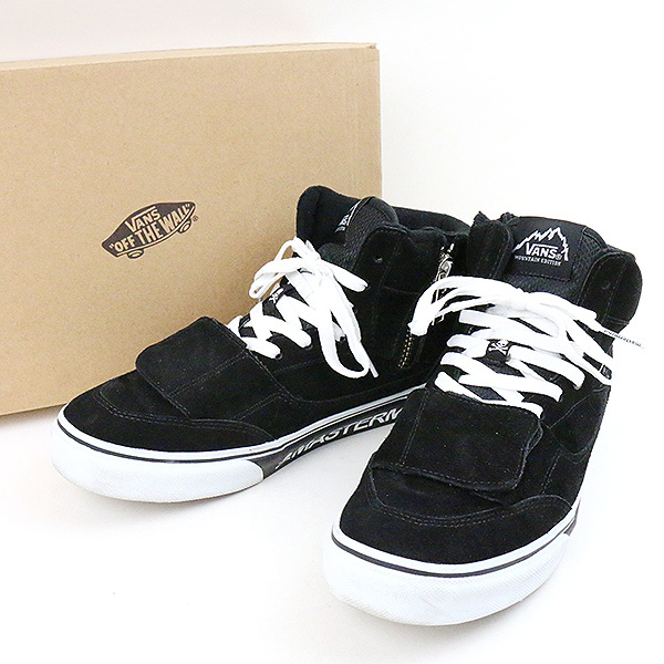 8dd1cf945e VANS station wagons X mastermind MOUNTAIN EDITION sneakers men black 28cm
