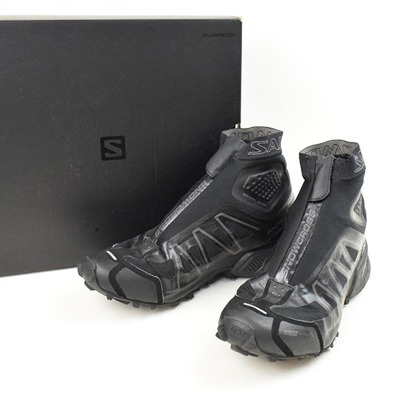 san francisco abab0 442bb SALOMON Salomon S-LAB SNOWCROSS BLACK LTD/ higher frequency elimination  sneakers men black 27.5cm