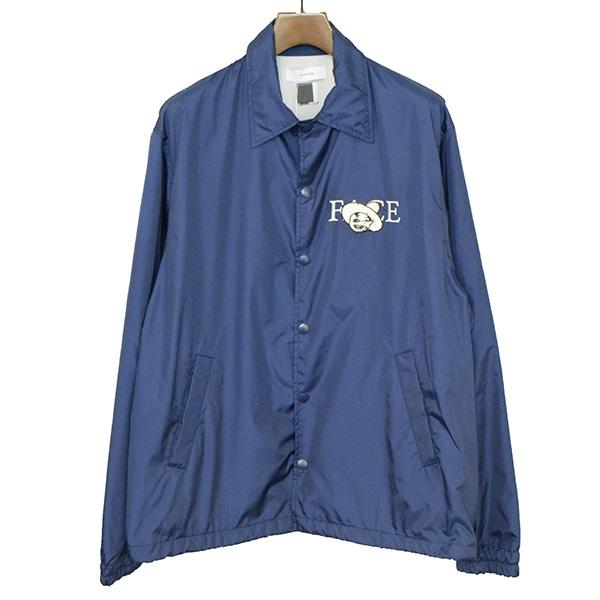 【中古】FACETASM ファセッタズム 17SS FACE COLLAGE COACH JACKET ナイロンコーチジャケット メンズ ブルー 5