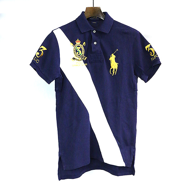 397ae16fc470 Polo by Ralph Lauren polo by Ralph Lauren CUSTOM FIT emblem embroidery big  pony line design ...