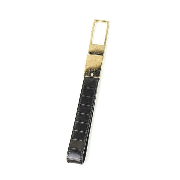 premium selection 1dc8e c40b3 【中古】Dior HOMME ディオールオム ラインエンボスレザーストラップ メンズ ブラック|MODESCAPE 楽天市場店
