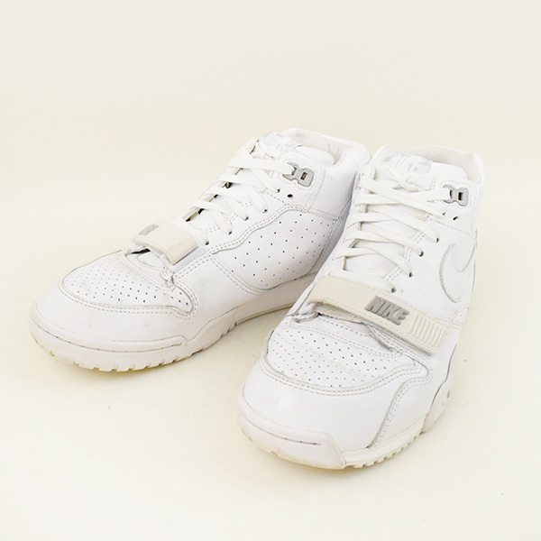 size 40 24367 2c44d NIKE Nike X Fragment Design fragment design AIR TRAINER 1 MID SP sneakers  men white 26cm