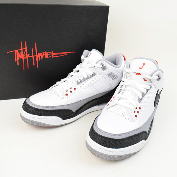cd3679149c NIKE Nike AIR JORDAN 3 RETRO TINKER NRG sneakers men white 27.5cm