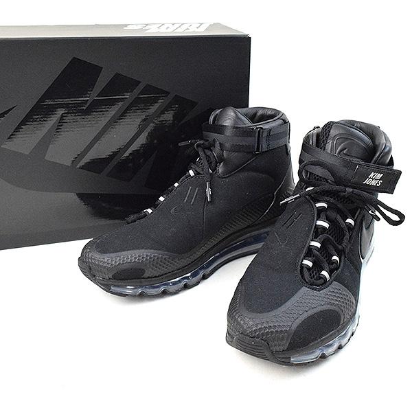 7b261af340 NIKE Nike X KIM JONES AIR MAX 360 HI KJ higher frequency elimination  sneakers men black ...