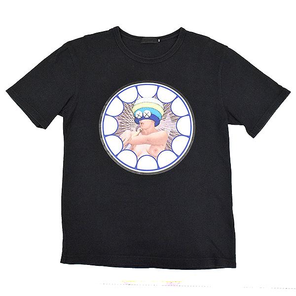【中古】Original Fake オリジナルフェイク ×KAWS プリントTシャツ デッドストック メンズ ブラック 2