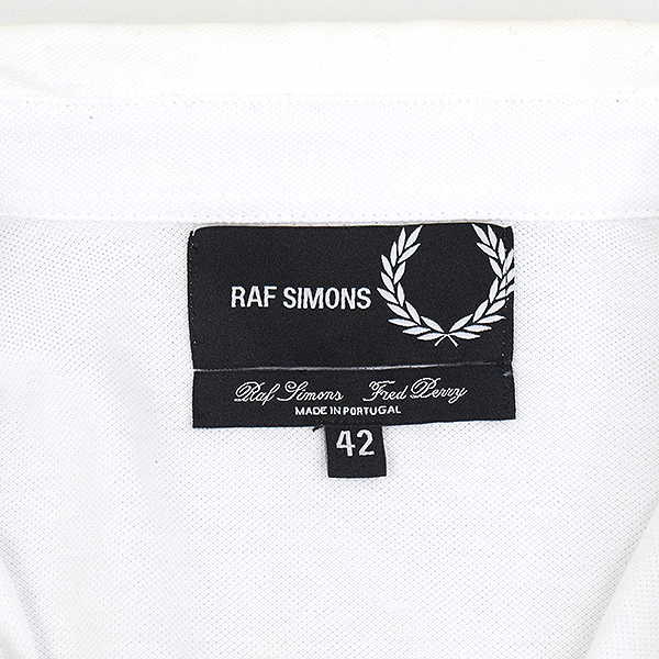 7edffd07 ... RAF SIMONS rough Simmons x FRED PERR Fred Perry 17SS Denim Pocket Pique  Shirt denim pocket ...