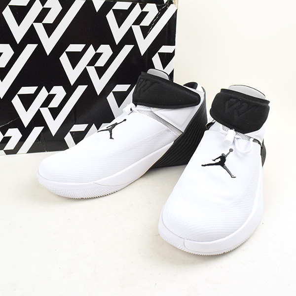 buy popular 66456 2302c NIKE Nike AIR JORDAN WHY NOT ZERO.1 AA2510 110 sneakers men white X black  31cm