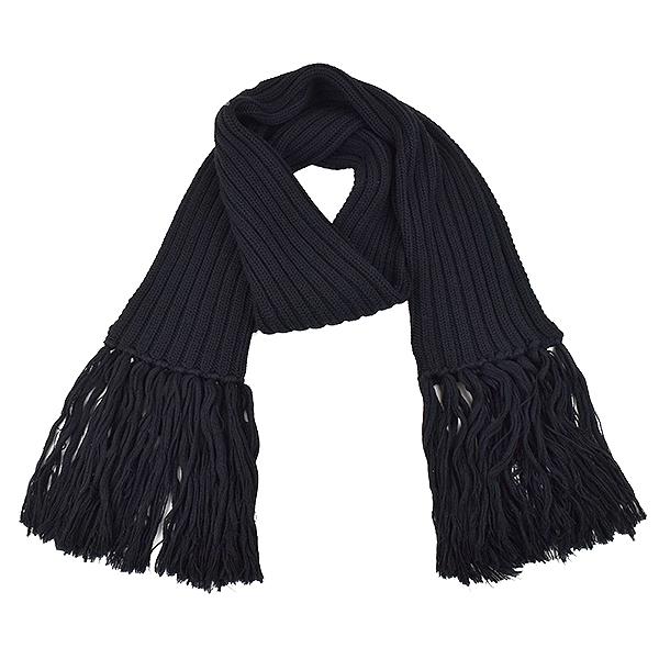 【中古【中古】Dior】Dior HOMME ブラック ディオールオム ローゲージウールニットフリンジマフラー メンズ ブラック F【スーパーSALE メンズ】【TOPS】【10~49%OFF】, IM-Trading:8416218e --- officewill.xsrv.jp