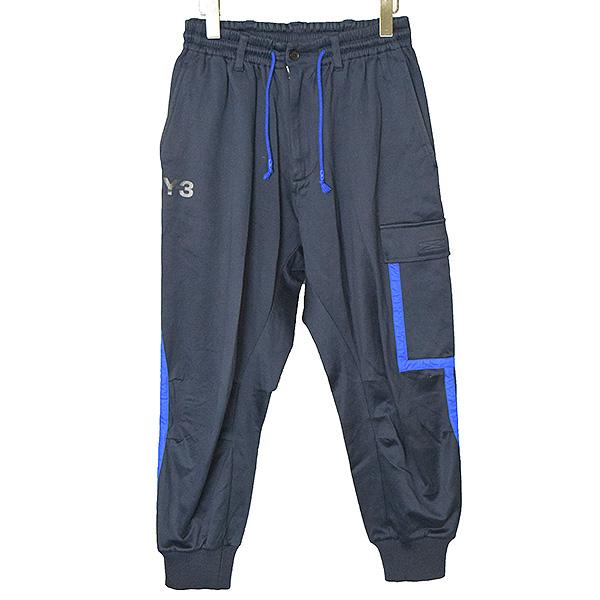 【中古】Y-3 ワイスリー 14SS Lux Tape Track Pants メンズ ネイビー XS