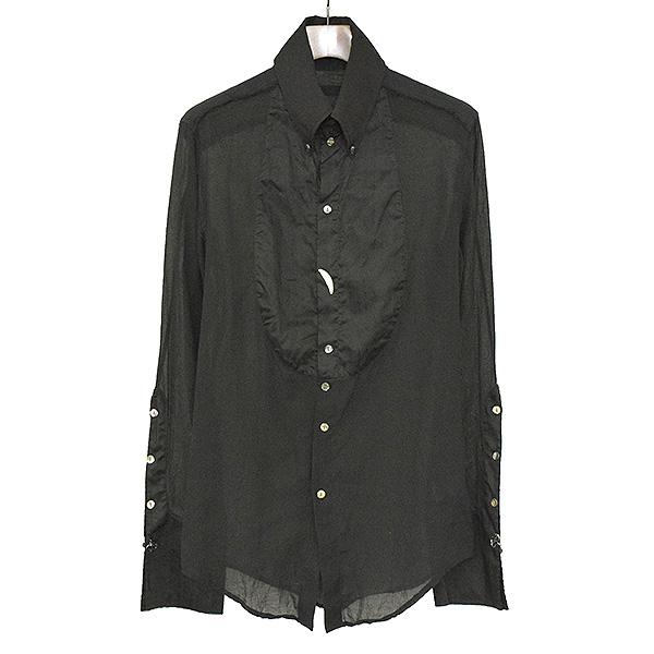 【中古】IF SIX WAS NINE イフシックスワズナイン ペガサスタキシードシャツ TXS-PGS メンズ ブラック 2
