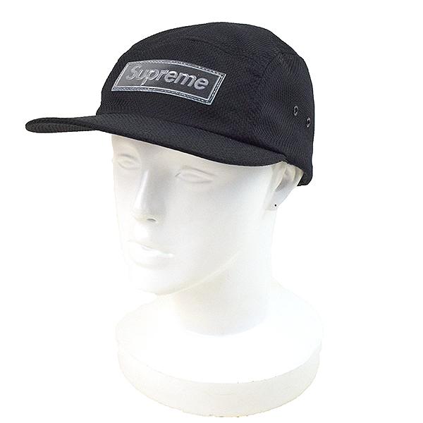 a6005b23 Supreme シュプリーム 18SS Nylon Pique Camp Cap nylon picket camping cap men black  ...