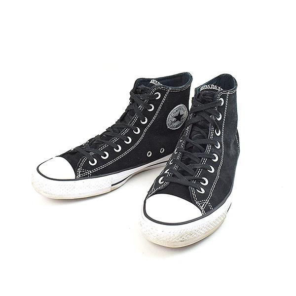 6cde6b8344ebd6 CONVERSE Converse CONS CTAS PRO HI SUEDE suede higher frequency elimination  sneakers men black 28cm