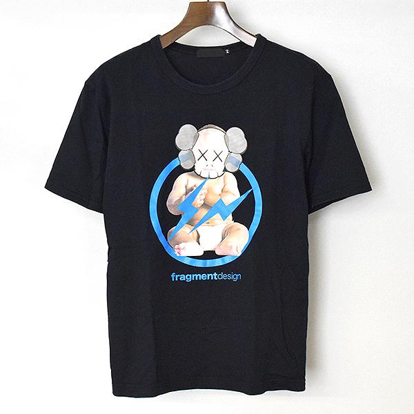 【中古】Original Fake オリジナルフェイク ×KAWS フォトプリントTシャツ デッドストック メンズ ブラック 2