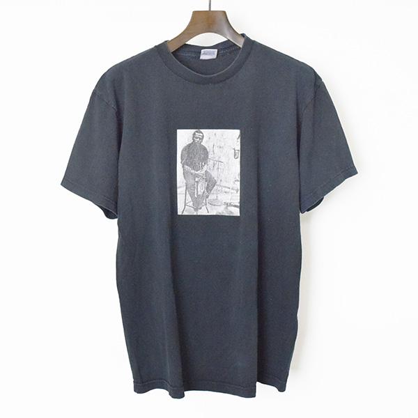 【中古】Supreme シュプリーム 08AW ×MILES DAVISフォトプリントTシャツ メンズ ブラック L