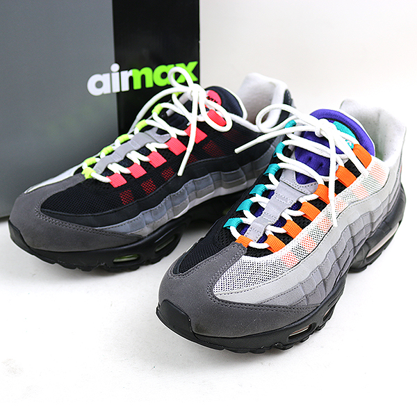 free shipping 15291 a5600 NIKE Nike AIR MAX 95 OG QS GREEDY sneakers men mixture 28cm