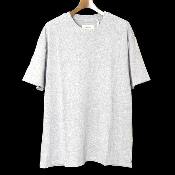 【中古】FOG by FEAR OF GOD フォグバイフィアーオブゴッド ESSENTIALS 18SS Boxy Graphic Tee オーバーサイズTシャツ メンズ グレー S