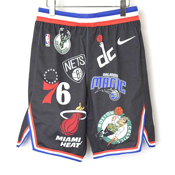 【中古】Supreme シュプリーム 18SS NBA Teams Authentic Sport ゲームショーツ メンズ ブラック M