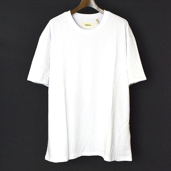 【中古】FOG by FEAR OF GOD フォグバイフィアーオブゴッド ESSENTIALS 18SS Boxy Graphic Tee/オーバーサイズTシャツ メンズ ホワイト M