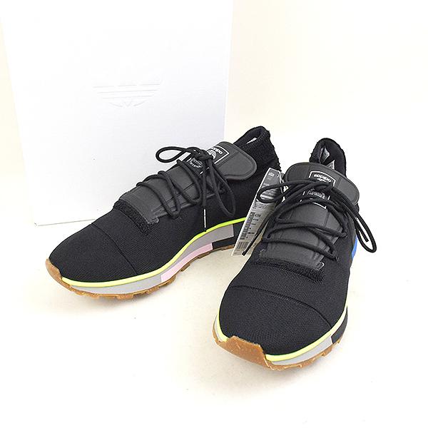【中古】adidas Originals by Alexander Wang アディダス バイ アレキサンダーワン AW RUN MID スニーカー メンズ ブラック 26.5cm