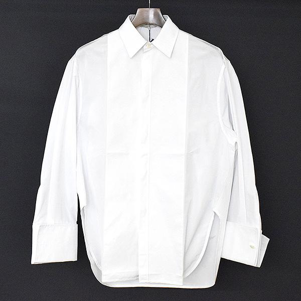 【中古】BALENCIAGA バレンシアガ 16AW オーバーサイズシャツジャケット メンズ ホワイト 36
