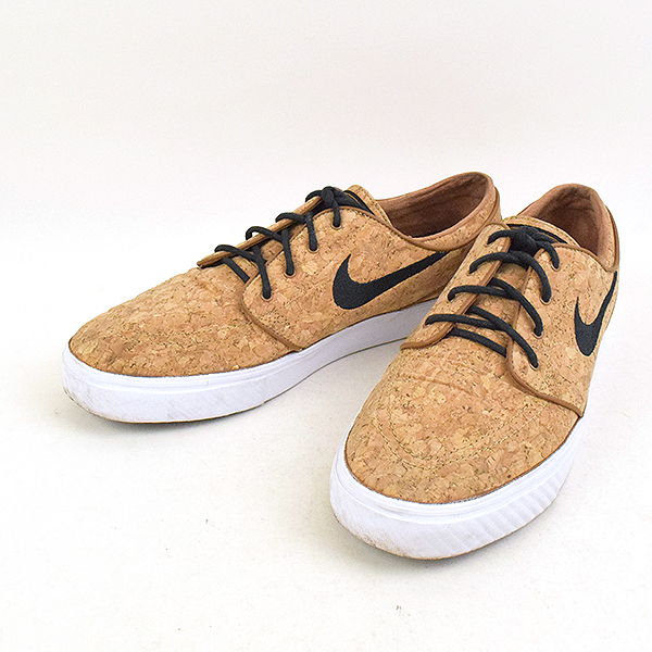 finest selection f66e5 da63c NIKE SB Nike SB 15SS ZOOM STEFAN JANOSKI ELITE CORK sneakers 725,074-201  men's beige 29cm