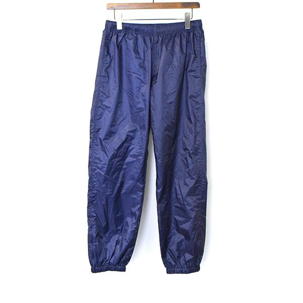 【中古】Supreme シュプリーム 17AW Packable Ripstop Pant リップストップナイロントラックパンツ メンズ ネイビー S