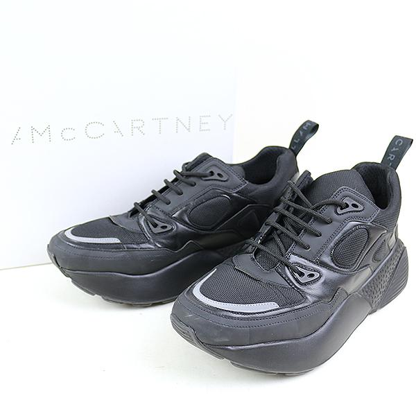 9b7b1856566 STELLA McCARTNEY Stella McCartney 18AW ECLYPSE eclipse fake leather low top  sneakers men black 42 (around 29cm)