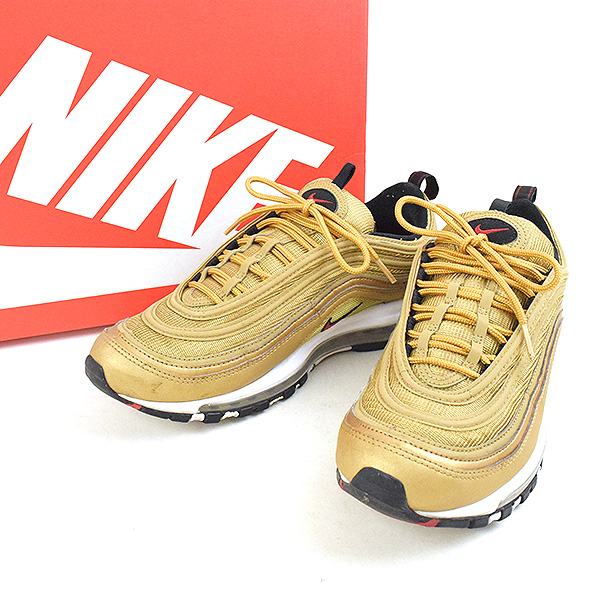 online retailer 74ace 0a5be NIKE Nike AIR MAX 97 OG QS METALLIC GOLD sneakers men gold 27cm