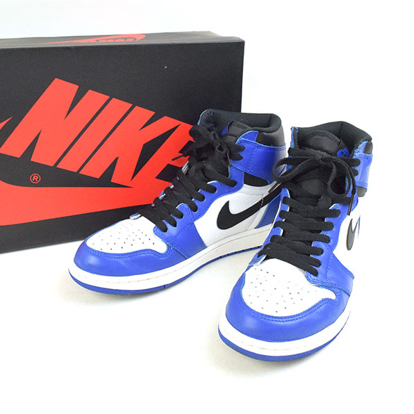 96b449b68f30 MODESCAPE Rakuten Ichiba Shop  NIKE Nike AIR JORDAN 1 RETRO HIGH OG GAME  ROYAL 555