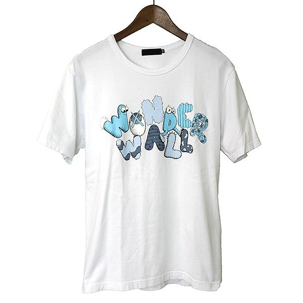 【中古】Original Fake オリジナルフェイク WONDER WALL プリントTシャツ メンズ ホワイト 2