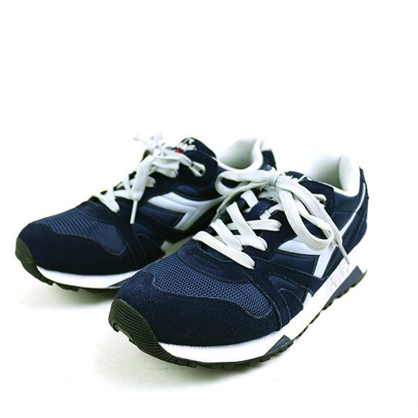 9b5fea59ea DIADORA Deer gong N9000 low-frequency cut sneakers men navy 27cm